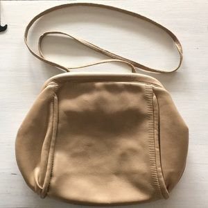 Vintage tan purse